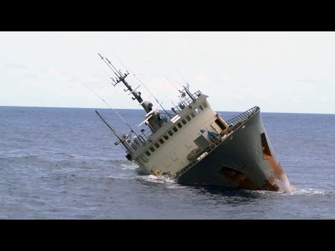 Poaching Vessel, Thunder, Sinks in Suspicious Circumstances
