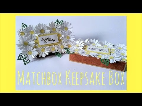 Matchbox Gift Box Tutorial