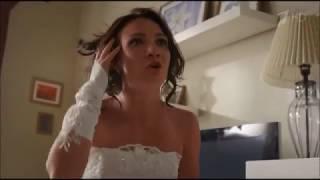 Истерика перед свадьбой.Жених терпит.