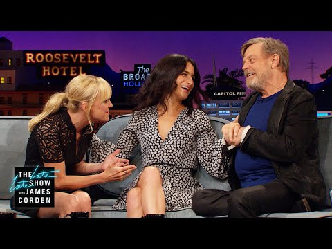 Mark Hamill Demonstrates the Self-Heimlich