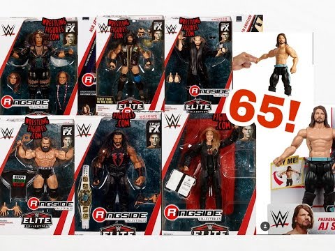 NEW WWE ELITE 65 FIGURE IMAGES + MORE