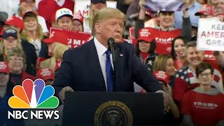 Trump: 'I Don't Believe' Sanders Said A Woman Can't Win Presidency | NBC News
