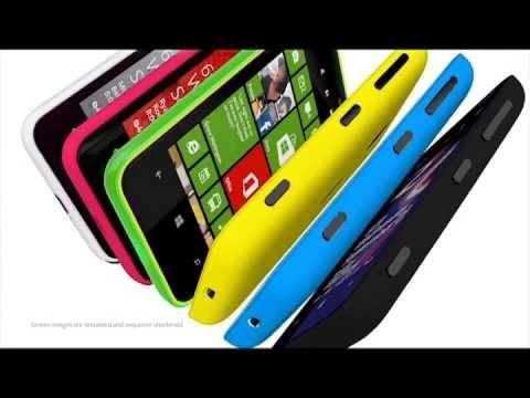 Nokia Lumia 620 Sand Prod Video