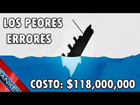 LOS ERRORES MAS CAROS DE LA HISTORIA