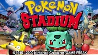 N64: Pokémon Stadium R1 (HD / 60fps)