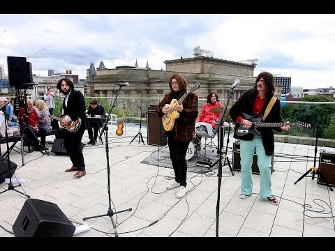 Them Beatles ''Rooftop'' Show, Liverpool Central Library Beatleweek 2015