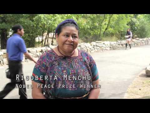 Nobel Peace Prize Winner Rigoberta Menchú Speaks to Ramapo Students