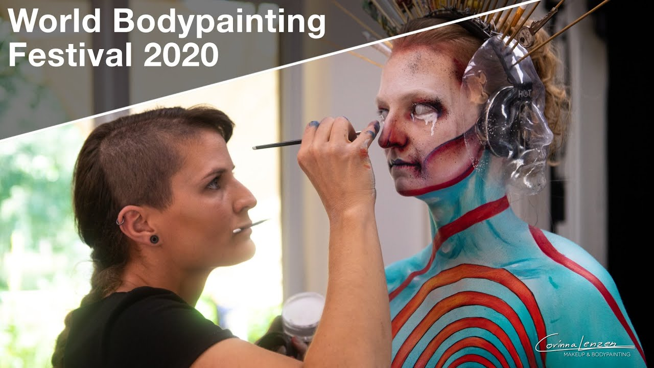 Psychedelic Circus Interpretation Eng Version World Bodypainting Festival 2020 Youtube