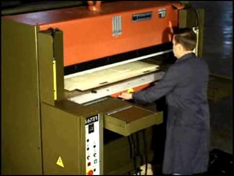 ATOM S600 ST Series Full Beam Press with Single Sliding Tray