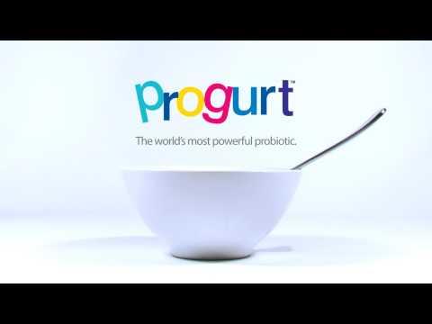 Progurt. The World's Most Powerful Probiotic.