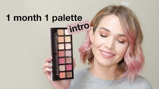 February 1 Month 1 Palette Intro   morerebe