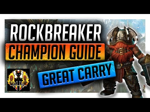 RAID: Shadow Legends   ROCKBREAKER CHAMPION GUIDE   INSANE EPIC CARRY FOR DUNGEONS & ARENA!
