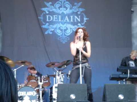 Delain - A day for ghosts en Control the storm @ Wâldrock 2009 mp3