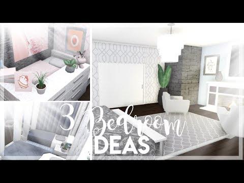 Roblox Bloxburg 3 Bedroom Ideas Youtube