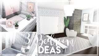 ROBLOX | Bloxburg : 3 Bedroom Ideas