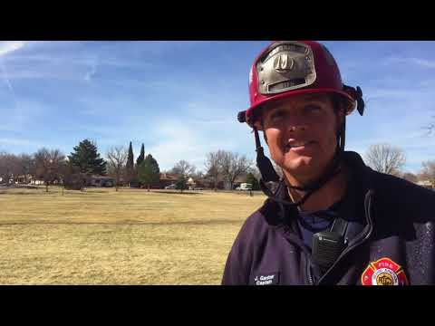 Why Is The Grand Junction Fire Department at Sherwood Park?