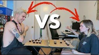 Lysandre VS Jemcee. BATTLESHOT. (C'est la guerre!)