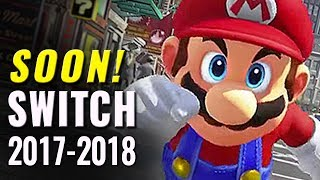 81 Upcoming Nintendo Switch Games of 2017-2018 | E3 2017 Update