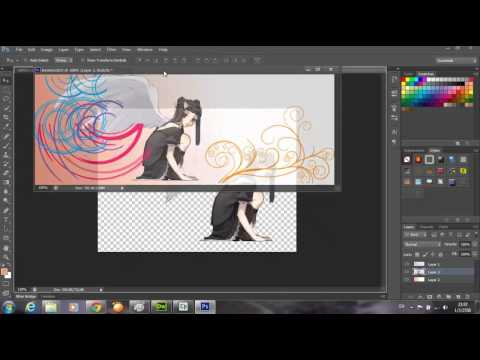 การใช้โปรแกรม Adobe Photoshop Cs6 ในการตกแต่งภาพหน้าปกเฟสบุ๊ค