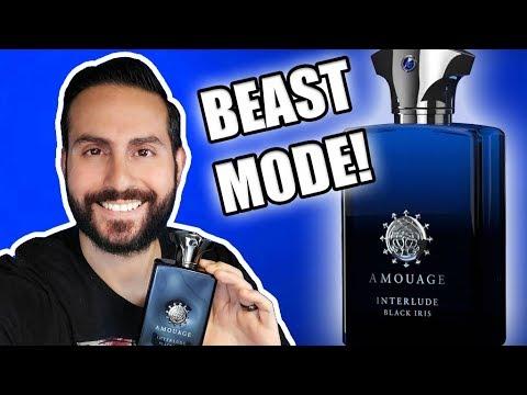 BEAST MODE FRAGRANCE! | AMOUAGE INTERLUDE BLACK IRIS REVIEW!