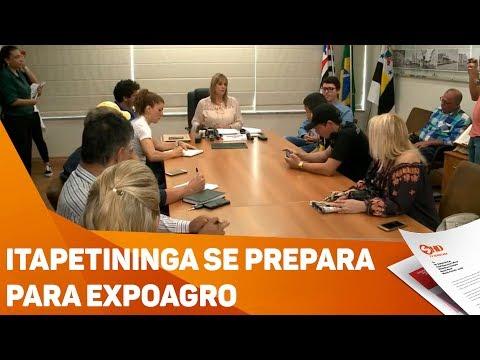 Itapetininga se prepara para Expoagro - TV SOROCABA/SBT