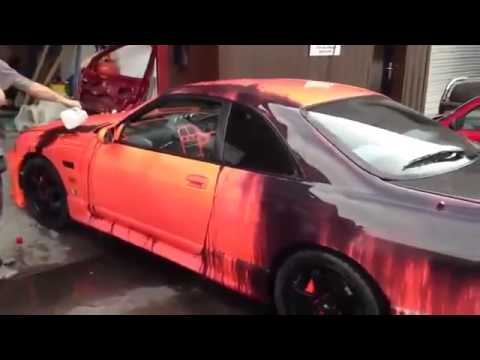 amazing thermal car paint youtube. Black Bedroom Furniture Sets. Home Design Ideas