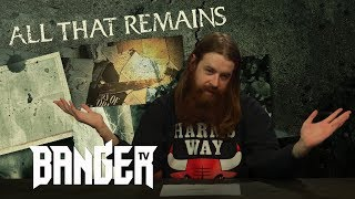 ALL THAT REMAINS Victim Of The New Disease Album Review | Overkill Reviews