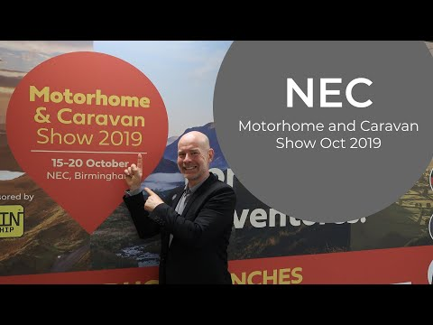 NEC Motorhome & Caravan Show October 2019 - MUST SEE!