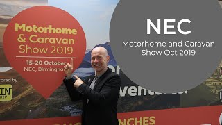 NEC Motorhome & Caravan Show October 2019 - MUST SEE!