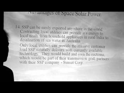 Space Solar Power: Advantages of Space Solar Power Darel Preble