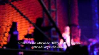 Hilary Duff - Underneath this smile / Come Clean (Still Most Wanted Tour - Madrid)