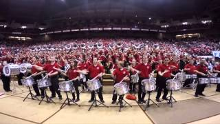 OSU Athletic Band at Skull Session Nov 7th 2015
