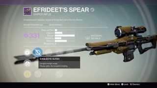 destiny reforging efrideet s spear iron banner sniper best roles