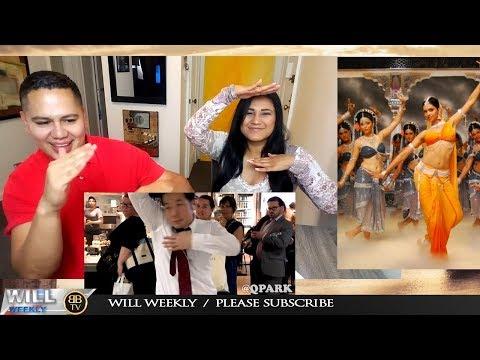 BOLLYWOOD SONGS IN PUBLIC!! Sheila Ki Jawani, Lovely, Tu Cheez Badi Hai, Tunak Tunak Tun REACTION
