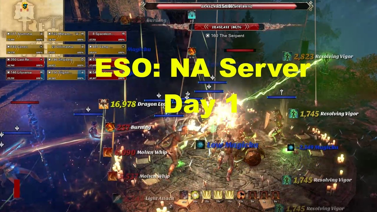 eso how to start in