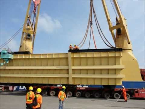 DEE Delight Maritime- Project Cargo Loading at Sattaheap ; T