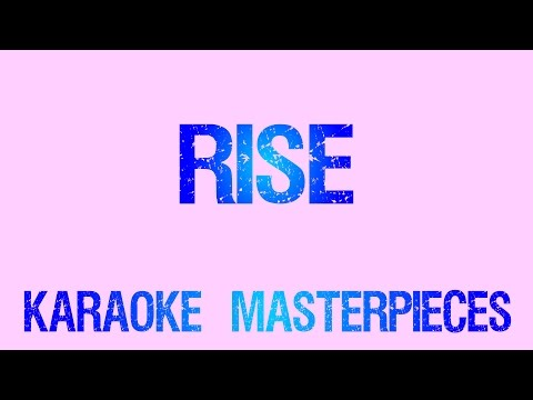 Rise (Originally  by Katy Perry) [Instrumental Karaoke] COVER with Lyrics