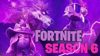FORTNITE SEASON 6 BATTLE PASS *NEW* LIVE Part1