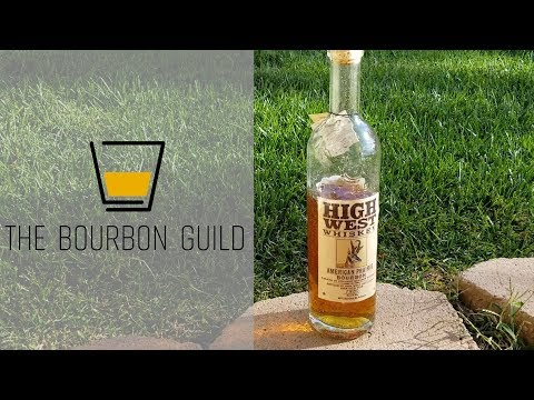 High West American Prairie Bourbon   The Bourbon Guild Review Show