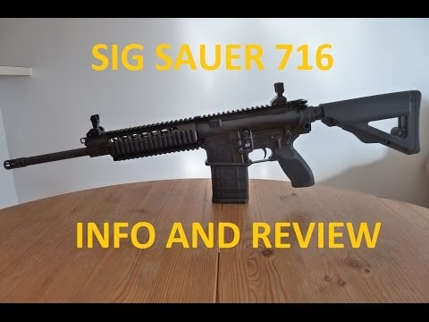 Sig Sauer 716 Review and Info Video
