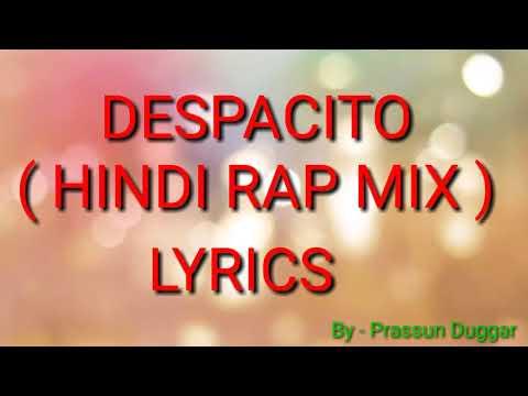 Despacito Hindi Version Lyrics