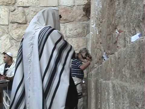 Jerusalem Western Wall, Israel on tour with Rev. Dr. John DeLancey