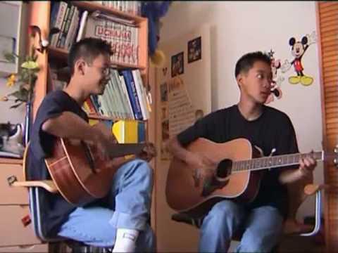 Gary & Ntony spelen gitaar