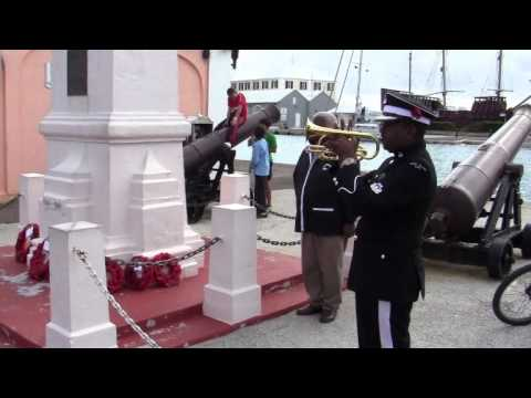 Remembrance Day Observation St George's Bermuda November 13 2011