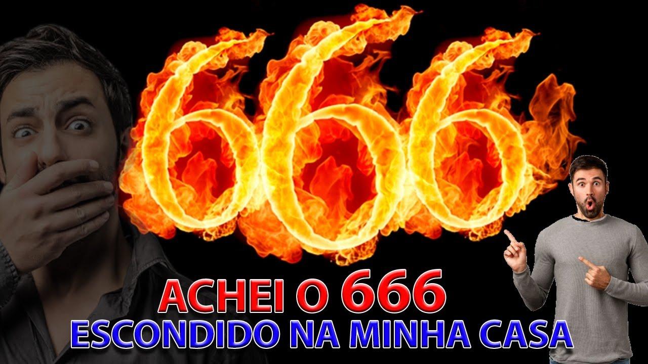 ACHEI O 666 ESCONDIDO NA MINHA CASA