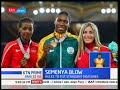 South African Caster Semenya's Blow.