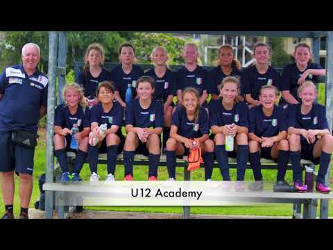 Brisbane City FC Girls Academy U8 - U12 (2017)