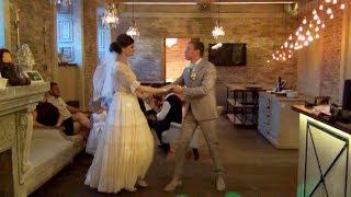 Свадьба Вики и Ильи ч.4 -  Поздравление крестной и бальные танцы