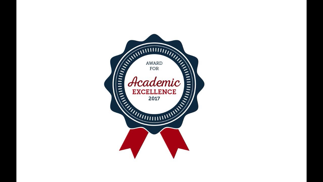Award For Academic excellence #award badge design # ...