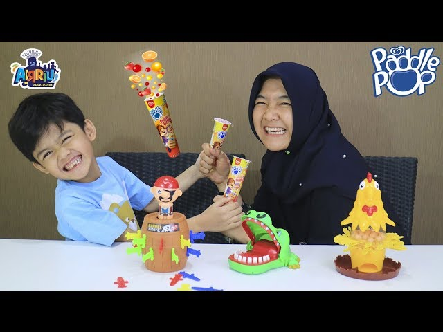 Drama Es krim paddle pop fruity bubbles || Paddle pop Challenge